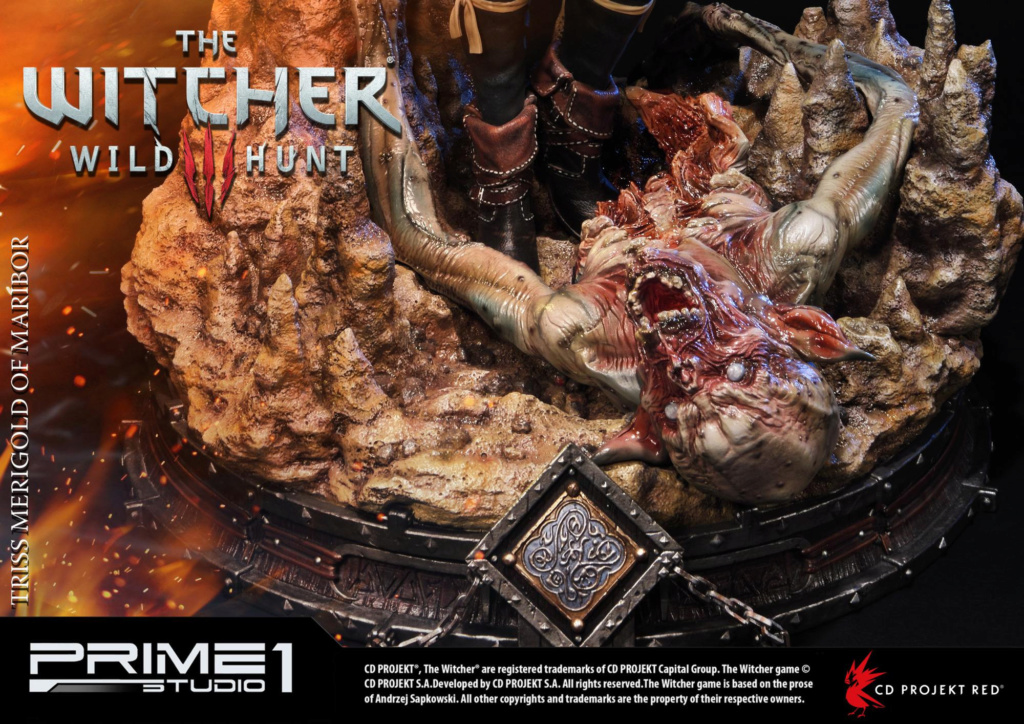 The Witcher 3 - Triss 1/4 Statue   Pmw3-024