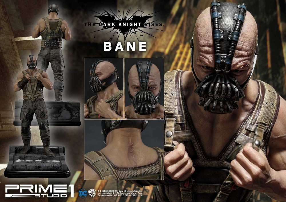 The Dark Knight Rises – Bane Statue and Bust 1/3 Prime-46