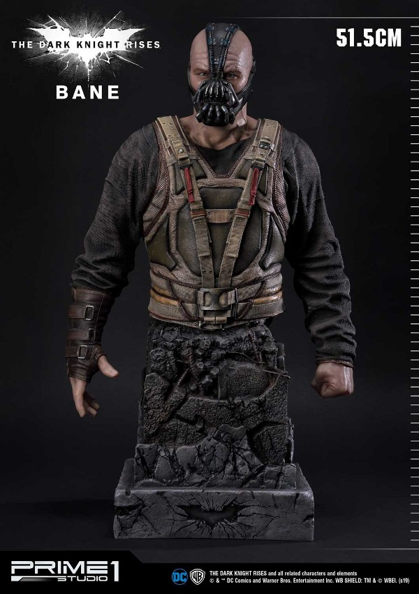 The Dark Knight Rises – Bane Statue and Bust 1/3 Prime-60