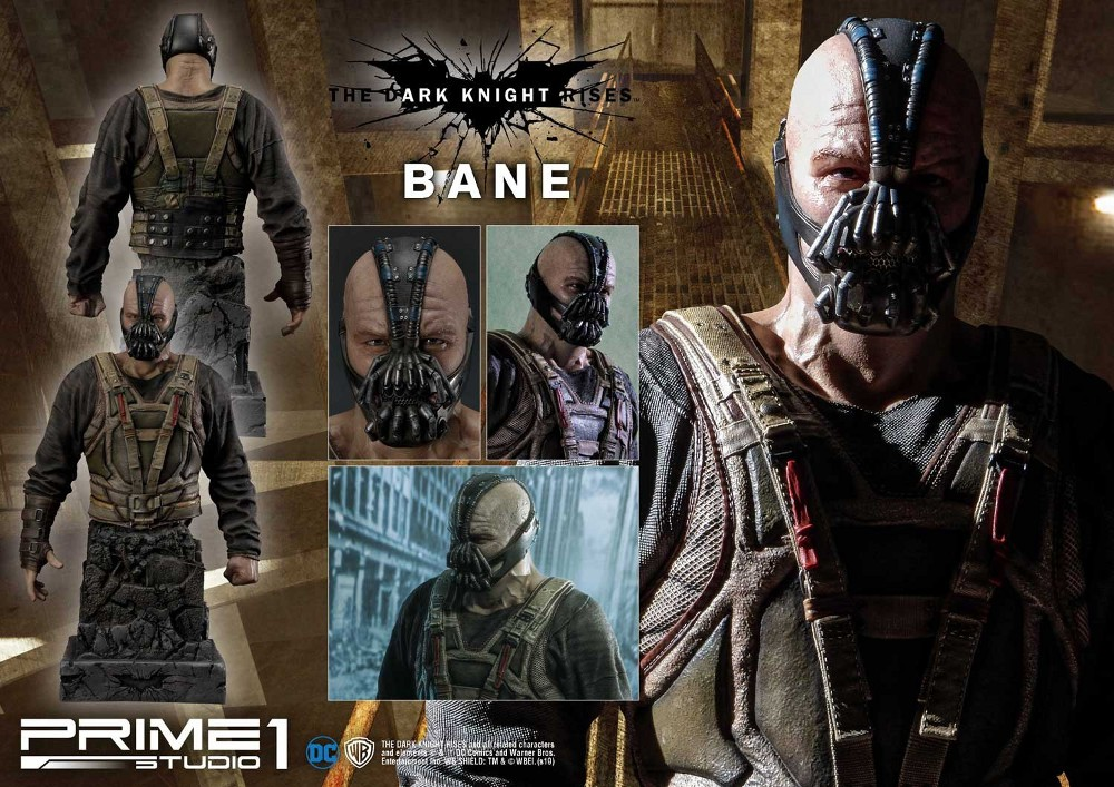 The Dark Knight Rises – Bane Statue and Bust 1/3 Prime-61