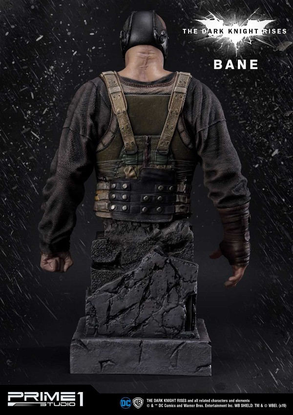 The Dark Knight Rises – Bane Statue and Bust 1/3 Prime-64