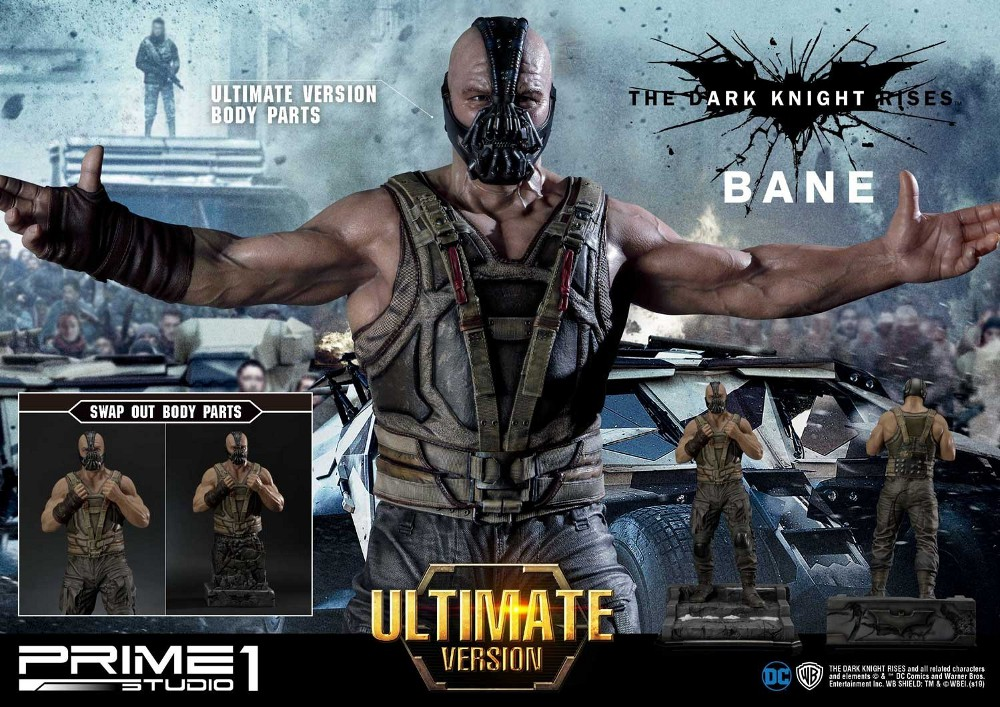 The Dark Knight Rises – Bane Statue and Bust 1/3 Prime-69