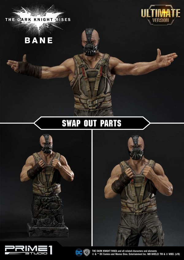 The Dark Knight Rises – Bane Statue and Bust 1/3 Prime-70