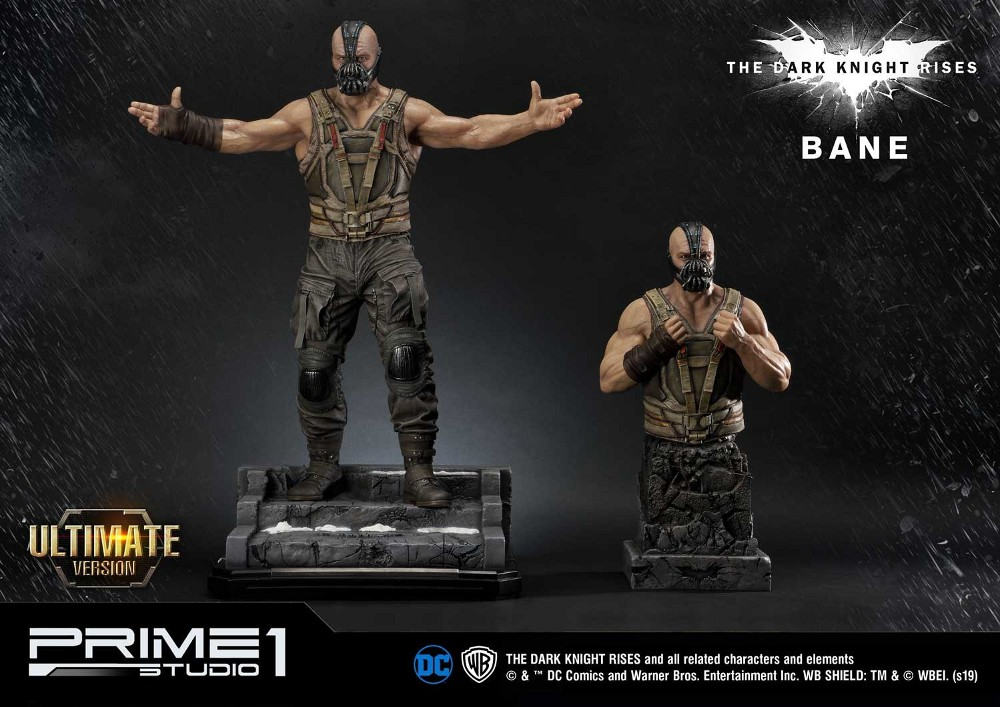 The Dark Knight Rises – Bane Statue and Bust 1/3 Prime-71