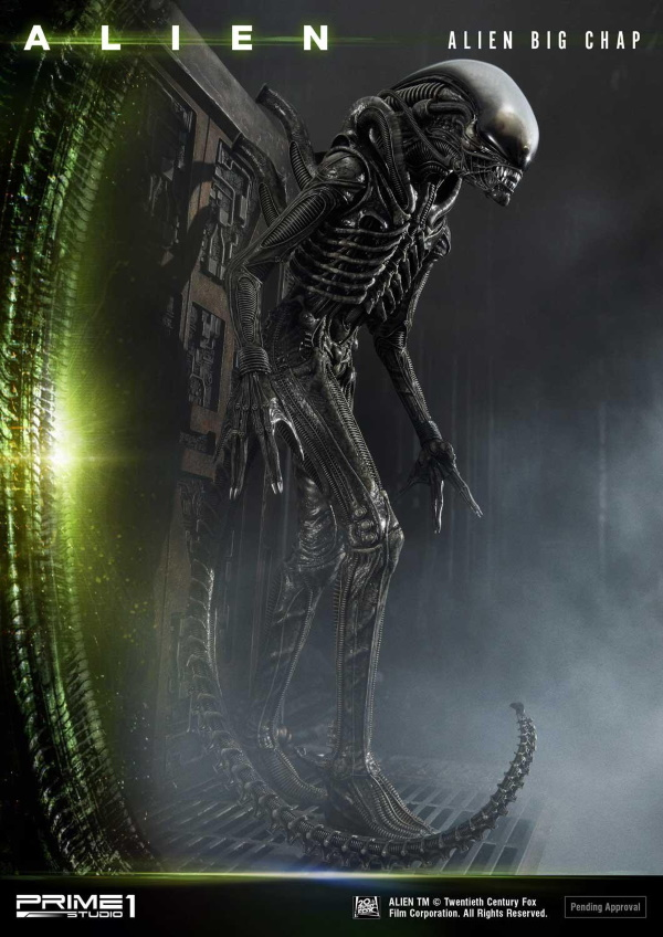 Alien – Big Chap Alien 3D Wall Art Prime141