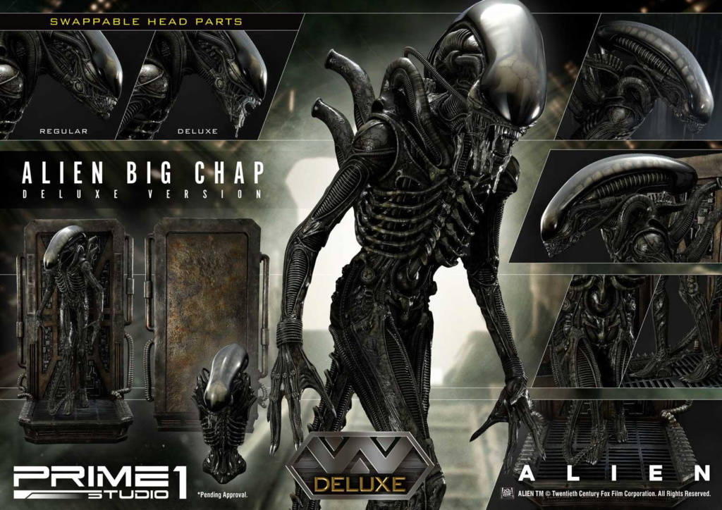 Alien – Big Chap Alien 3D Wall Art Prime142