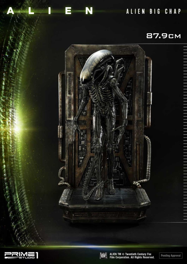 Alien – Big Chap Alien 3D Wall Art Prime143