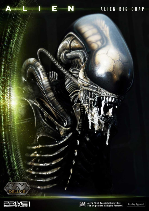 Alien – Big Chap Alien 3D Wall Art Prime144