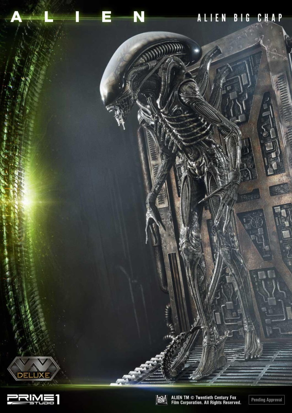 Alien – Big Chap Alien 3D Wall Art Prime145