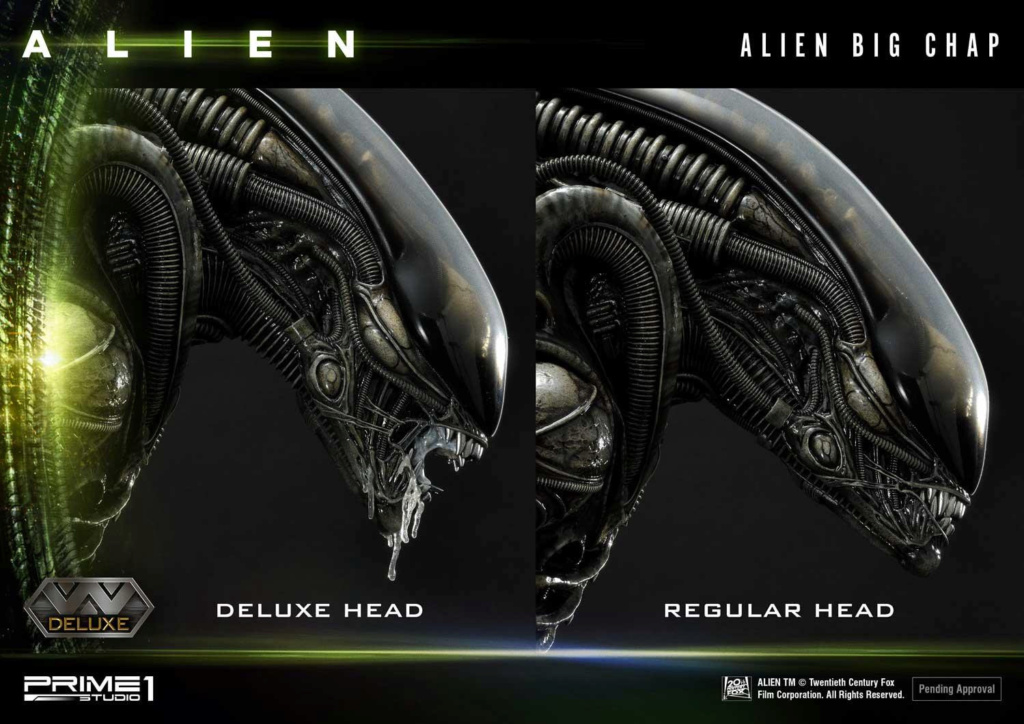 Alien – Big Chap Alien 3D Wall Art Prime147