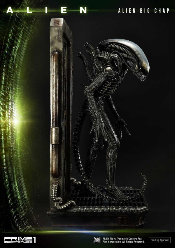 Alien – Big Chap Alien 3D Wall Art Prime148