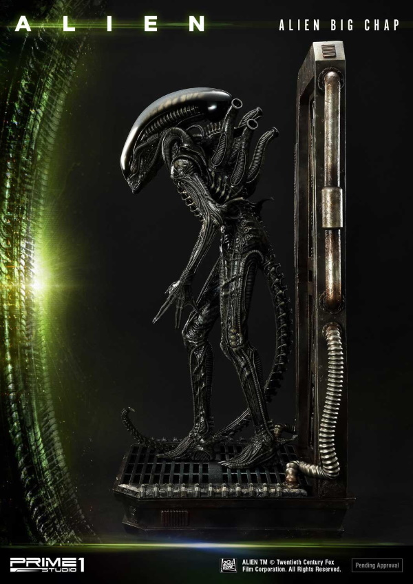 Alien – Big Chap Alien 3D Wall Art Prime149