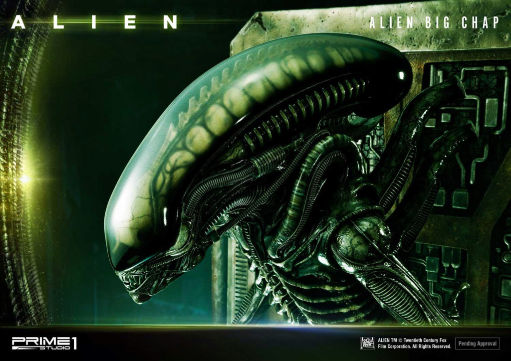 Alien – Big Chap Alien 3D Wall Art Prime151