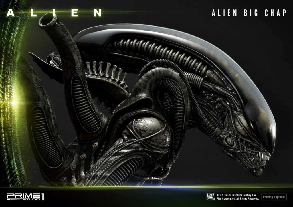 Alien – Big Chap Alien 3D Wall Art Prime152