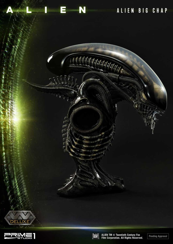 Alien – Big Chap Alien 3D Wall Art Prime154