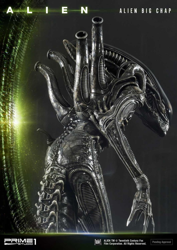 Alien – Big Chap Alien 3D Wall Art Prime156