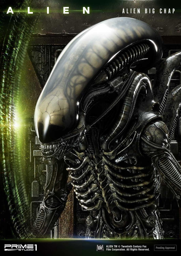 Alien – Big Chap Alien 3D Wall Art Prime157