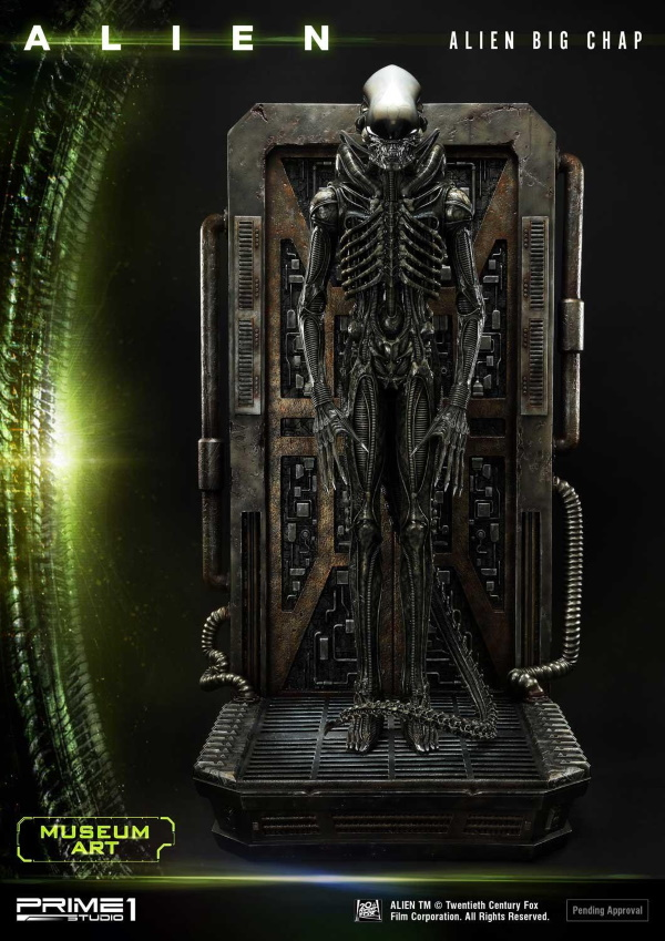 Alien – Big Chap Alien 3D Wall Art Prime159