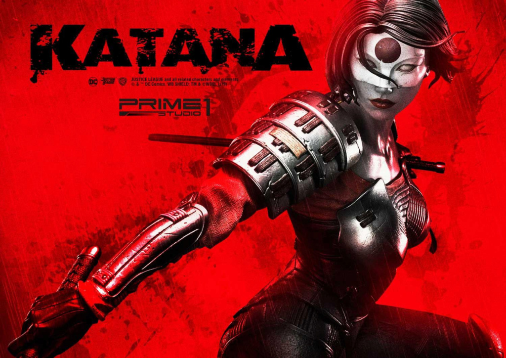 "DC Comics – Katana 1/3 Scale ""Bonus Version"" Statue Prime176"