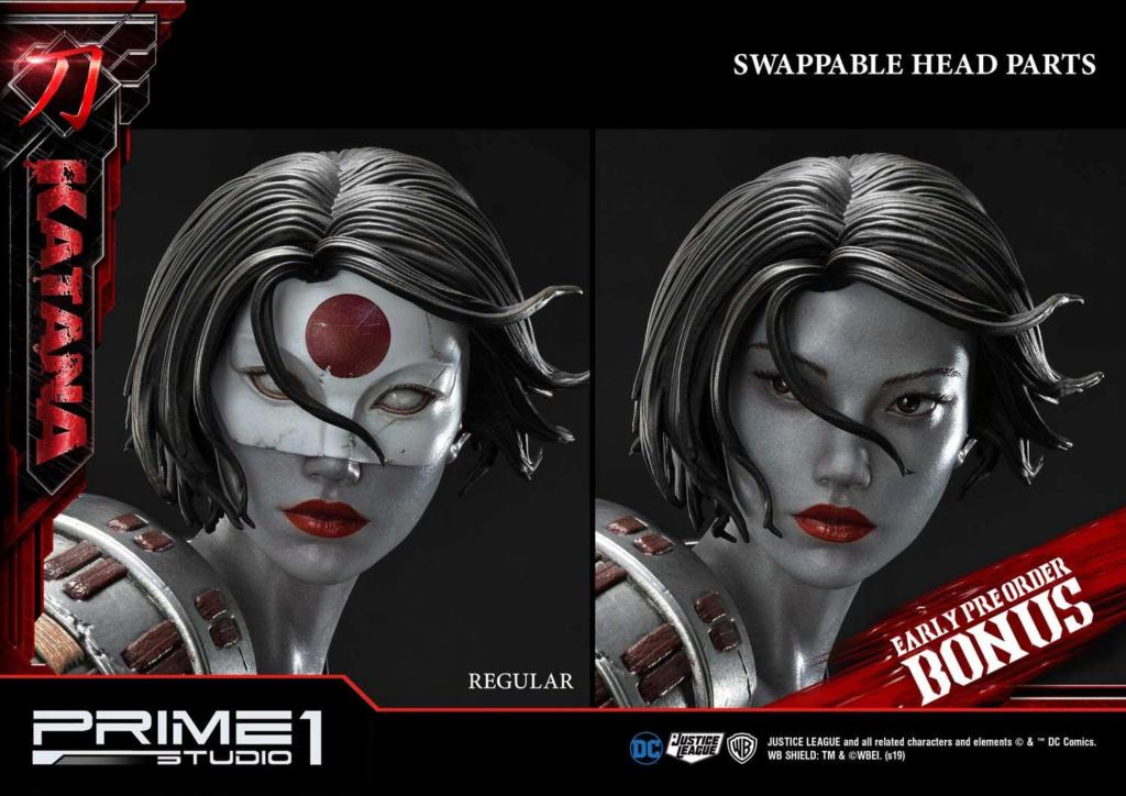 "DC Comics – Katana 1/3 Scale ""Bonus Version"" Statue Prime178"