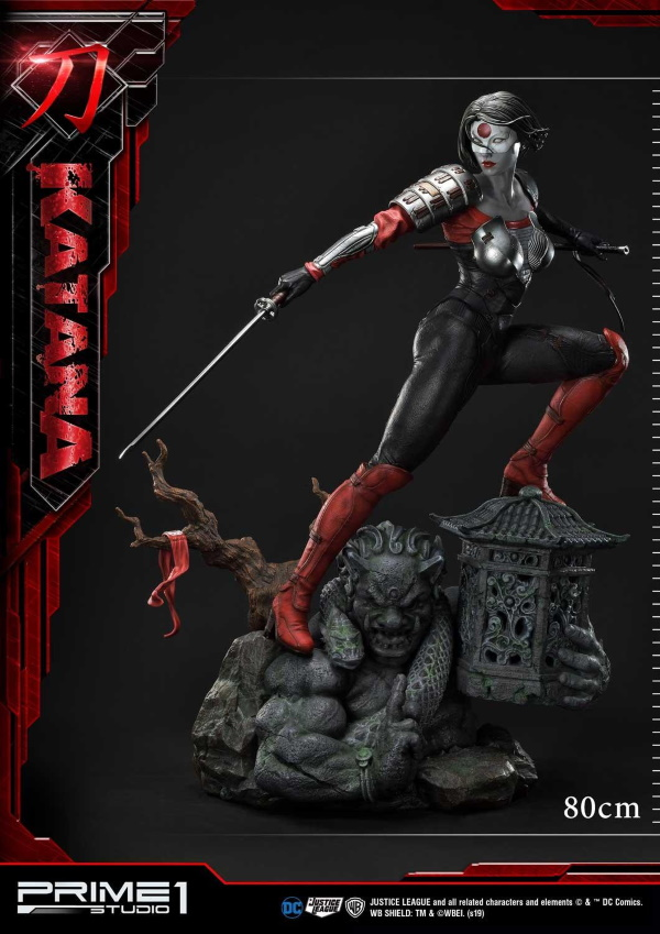 "DC Comics – Katana 1/3 Scale ""Bonus Version"" Statue Prime179"
