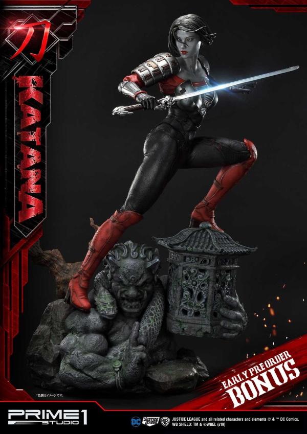 "DC Comics – Katana 1/3 Scale ""Bonus Version"" Statue Prime180"
