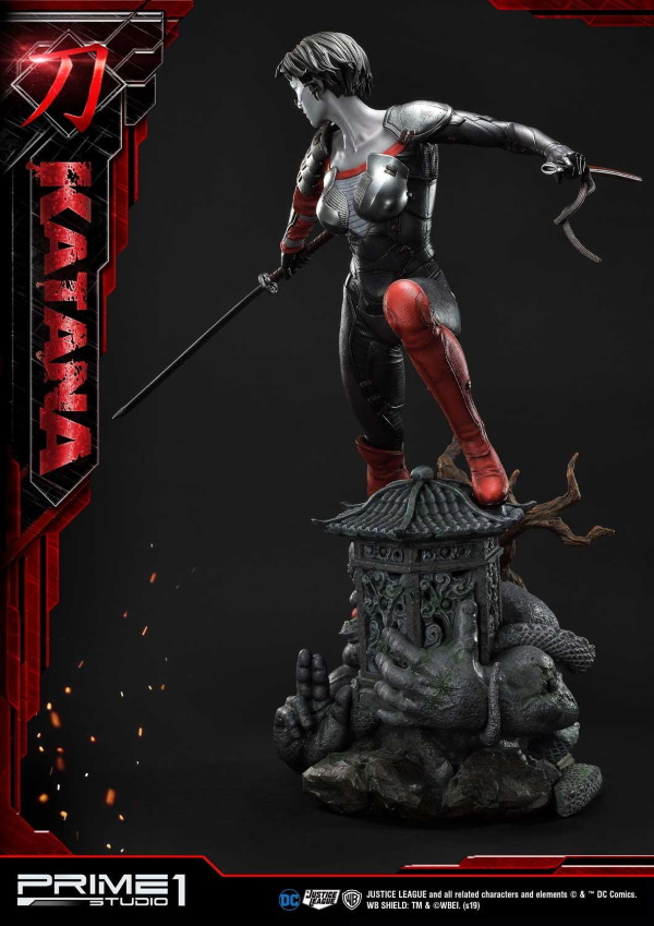 "DC Comics – Katana 1/3 Scale ""Bonus Version"" Statue Prime181"