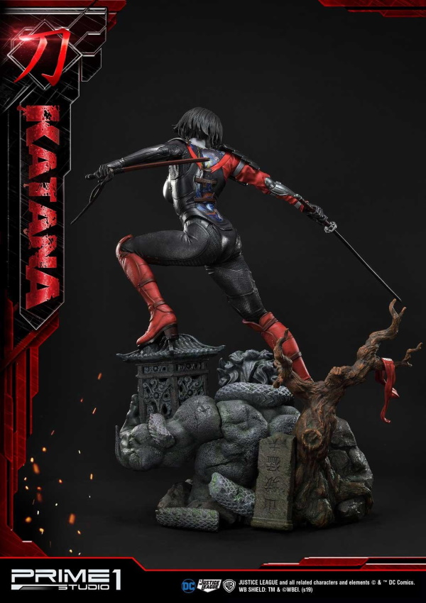 "DC Comics – Katana 1/3 Scale ""Bonus Version"" Statue Prime182"
