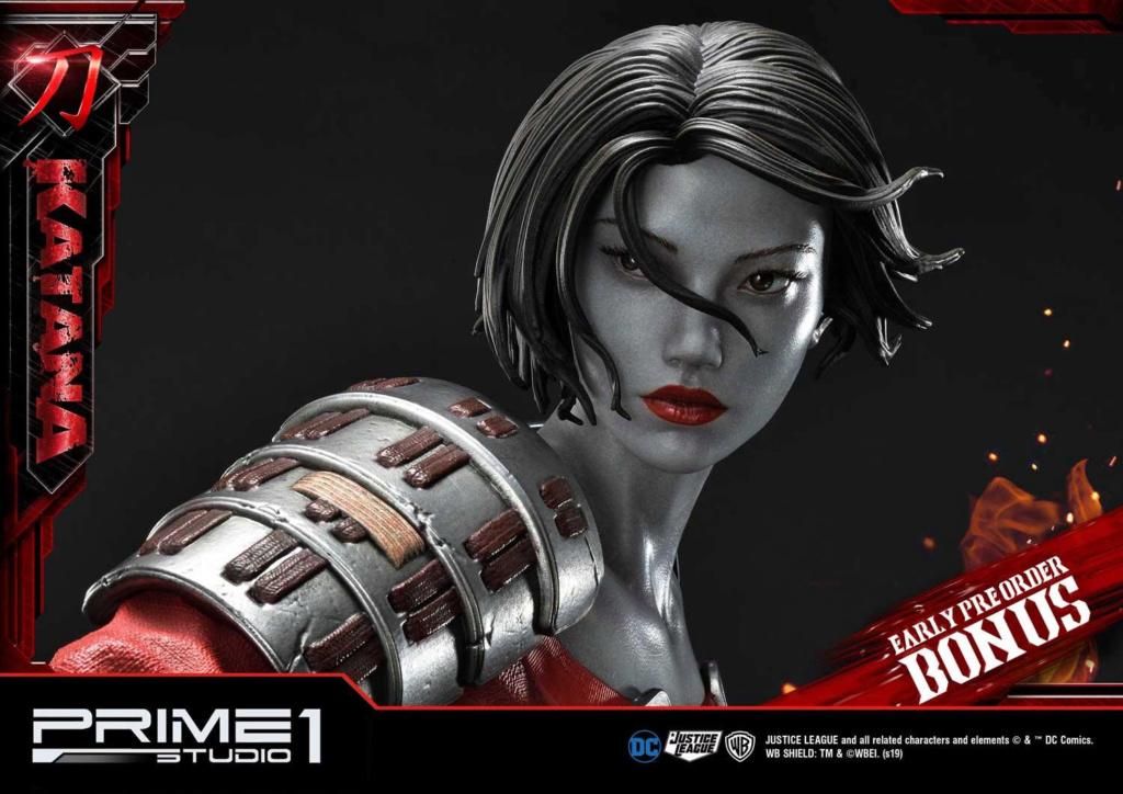 "DC Comics – Katana 1/3 Scale ""Bonus Version"" Statue Prime183"