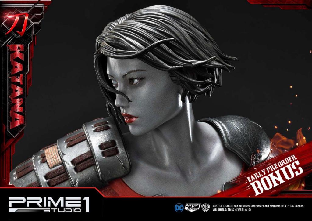"DC Comics – Katana 1/3 Scale ""Bonus Version"" Statue Prime185"