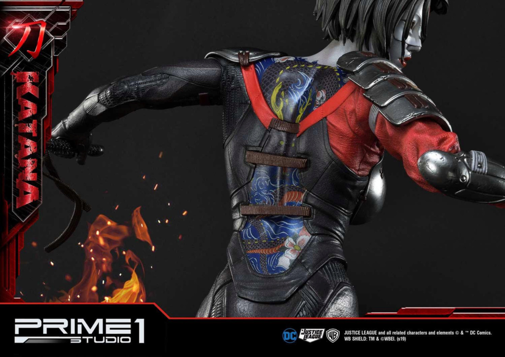 "DC Comics – Katana 1/3 Scale ""Bonus Version"" Statue Prime195"