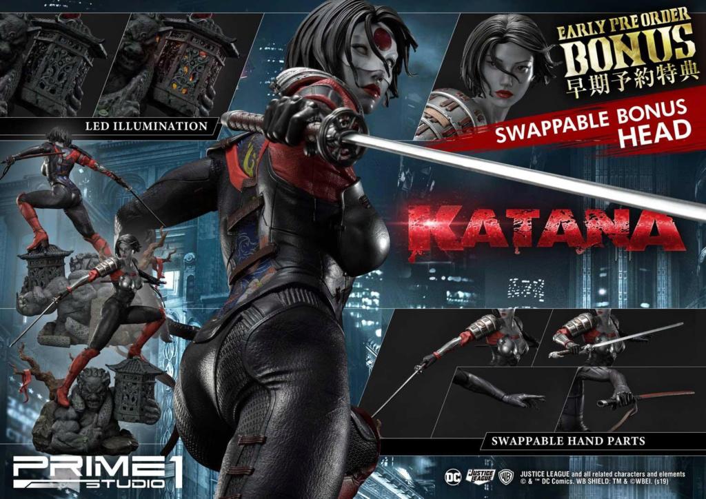 "DC Comics – Katana 1/3 Scale ""Bonus Version"" Statue Prime198"
