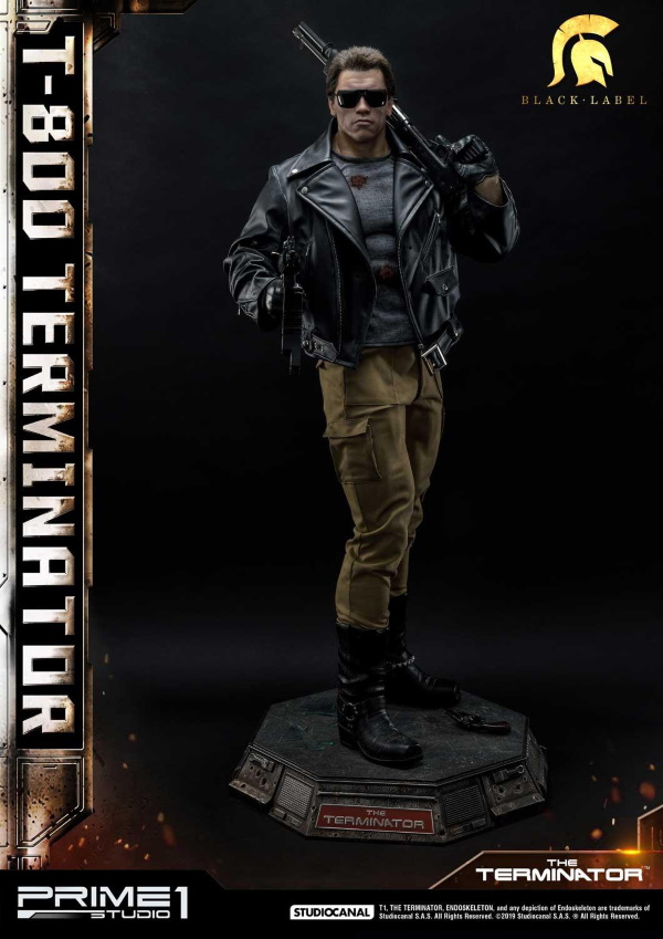 The Terminator T-800 1/2 Scale Statue Prime199