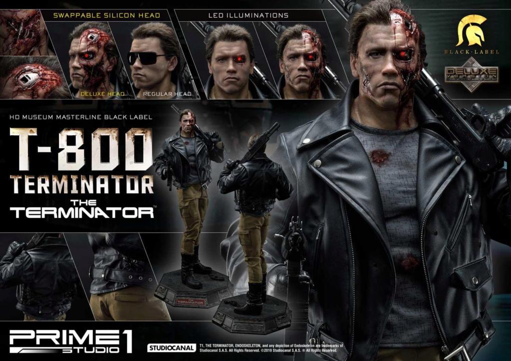 The Terminator T-800 1/2 Scale Statue Prime211