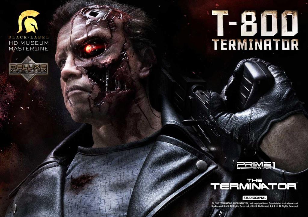 The Terminator T-800 1/2 Scale Statue Prime215