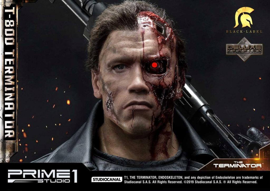 The Terminator T-800 1/2 Scale Statue Prime216