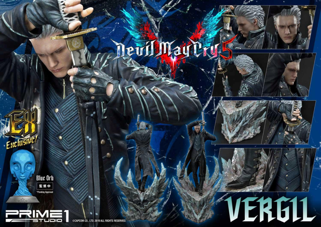 Devil May Cry V – Vergil 1/4 sacle Statue Prime249