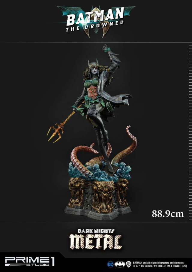 Dark Nights: Metal – The Drowned 1/3 scale Statue  Prime261