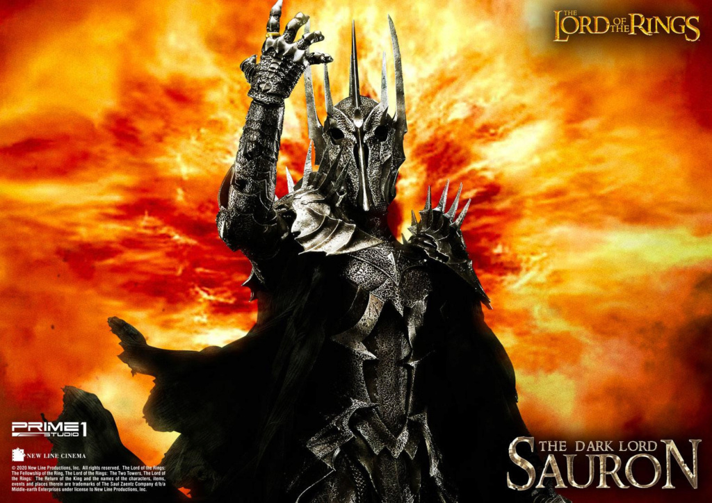 Lord of the Rings – Sauron 1/4 Scale Statue Prime265