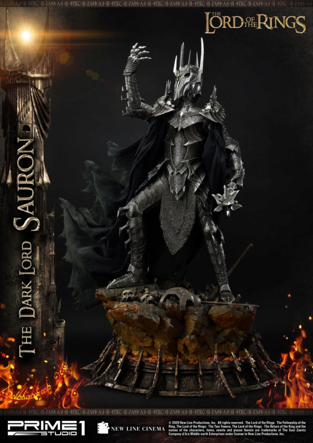 Lord of the Rings – Sauron 1/4 Scale Statue Prime266