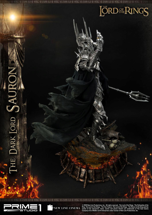 Lord of the Rings – Sauron 1/4 Scale Statue Prime268