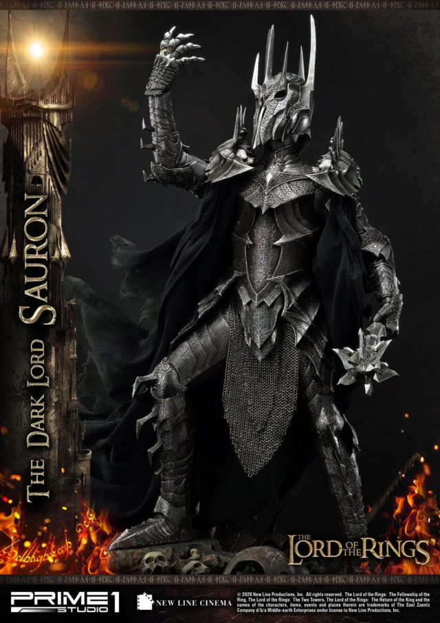 Lord of the Rings – Sauron 1/4 Scale Statue Prime270