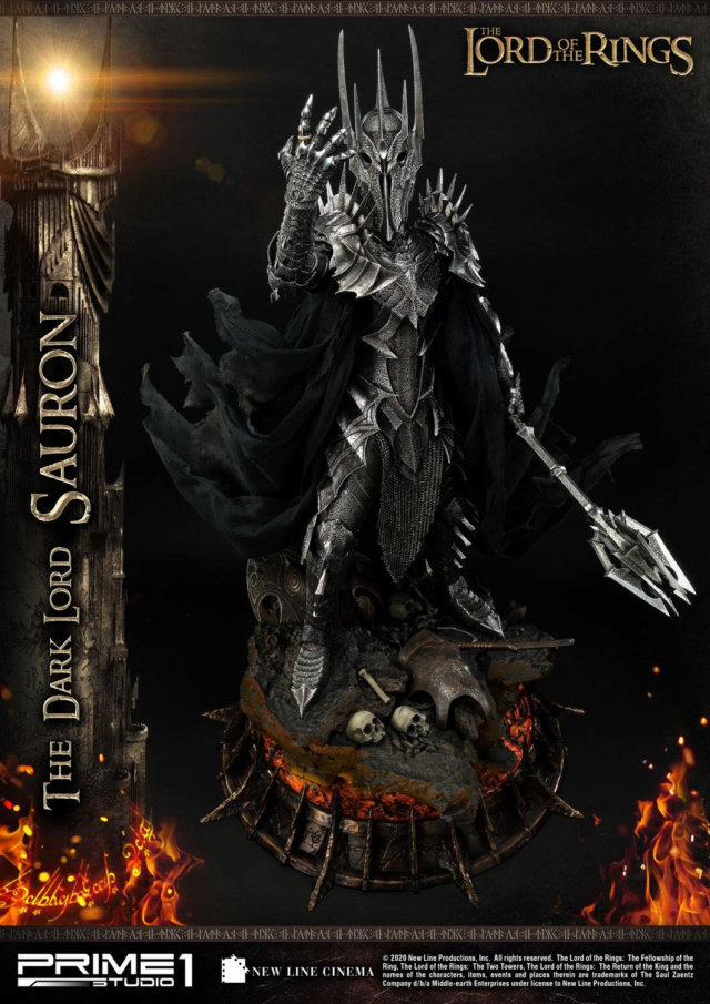 Lord of the Rings – Sauron 1/4 Scale Statue Prime271