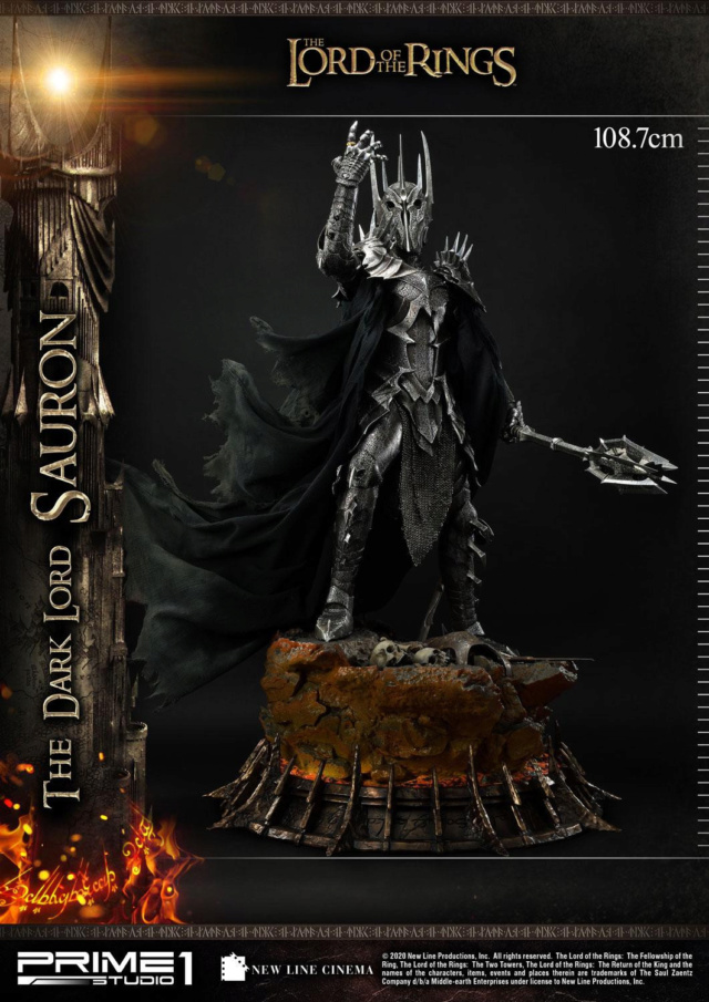 Lord of the Rings – Sauron 1/4 Scale Statue Prime272