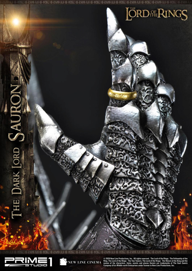 Lord of the Rings – Sauron 1/4 Scale Statue Prime273