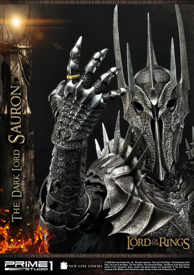 Lord of the Rings – Sauron 1/4 Scale Statue Prime274
