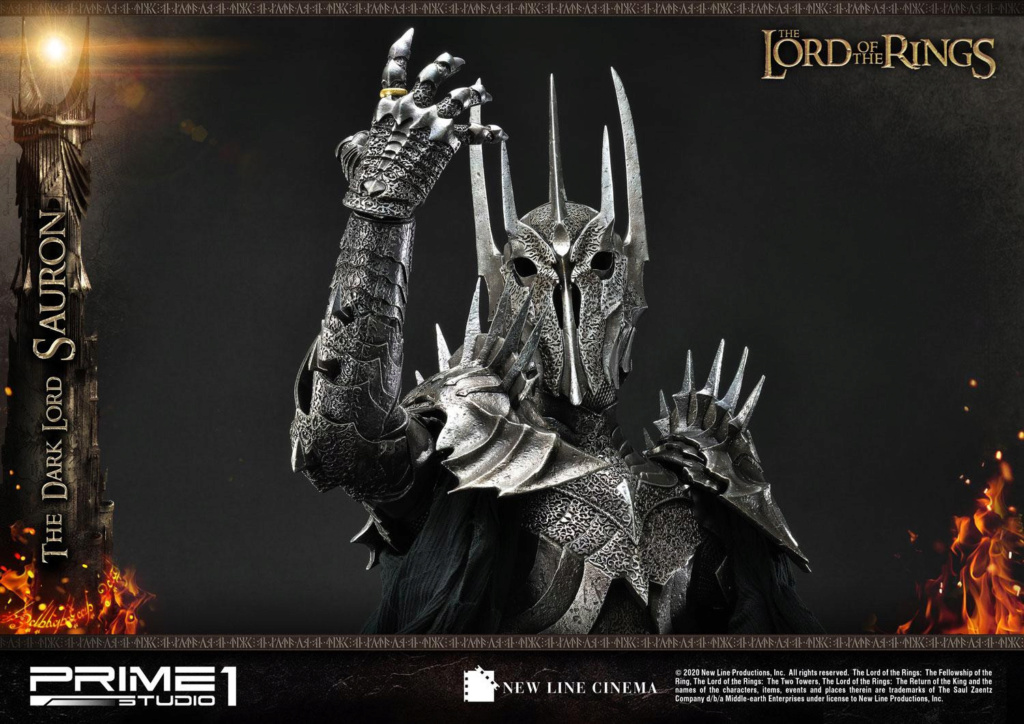 Lord of the Rings – Sauron 1/4 Scale Statue Prime276
