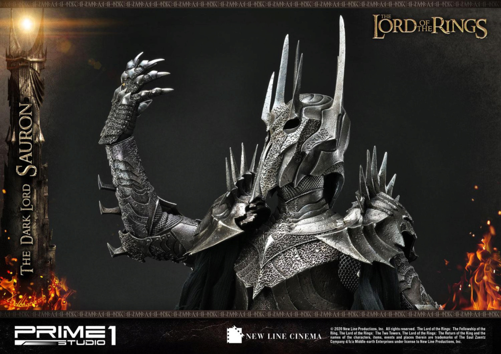 Lord of the Rings – Sauron 1/4 Scale Statue Prime277