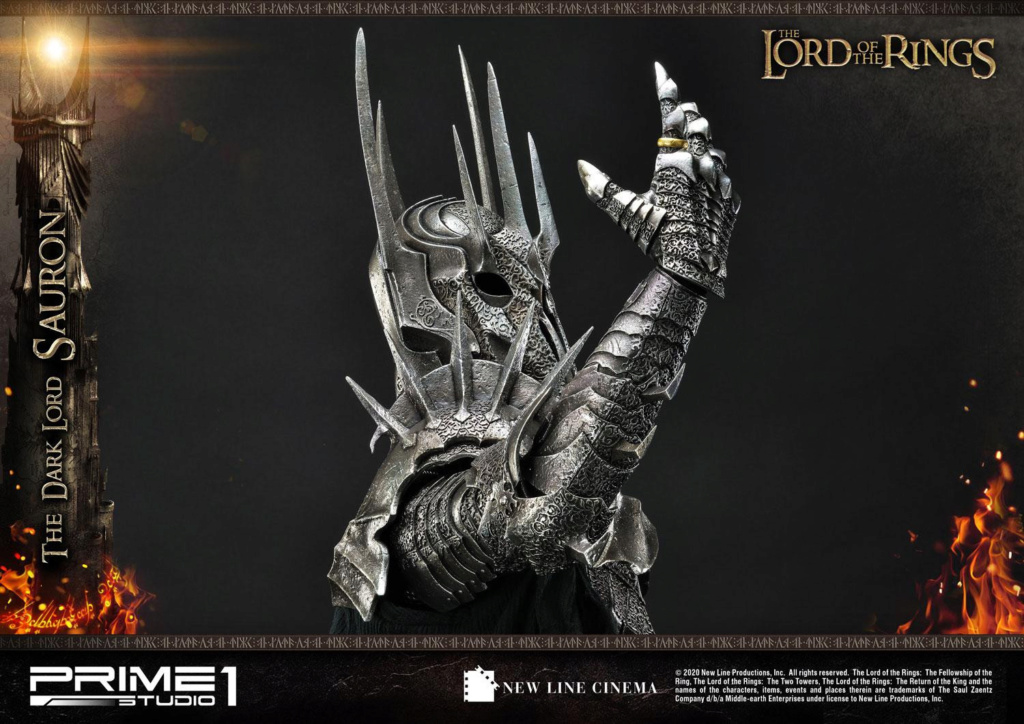 Lord of the Rings – Sauron 1/4 Scale Statue Prime278