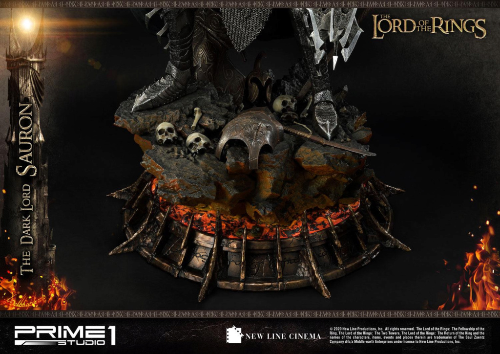 Lord of the Rings – Sauron 1/4 Scale Statue Prime280